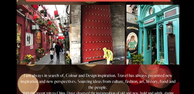 Colour and design inspiration – China