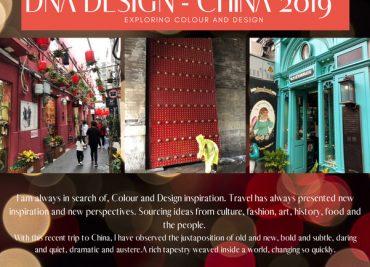 Colour and design inspiration – China